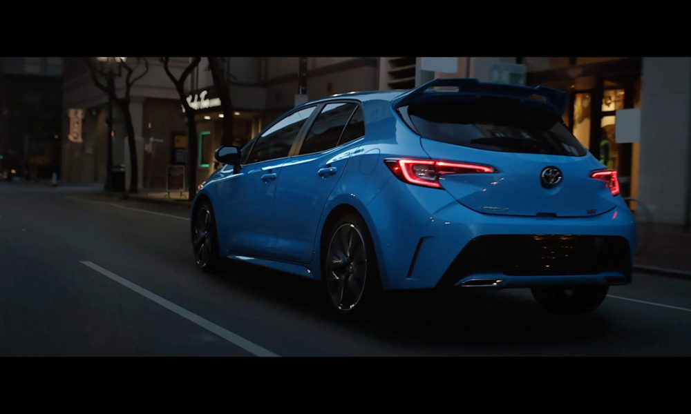 Toyota Corolla Hatch Ad Spot Anthem