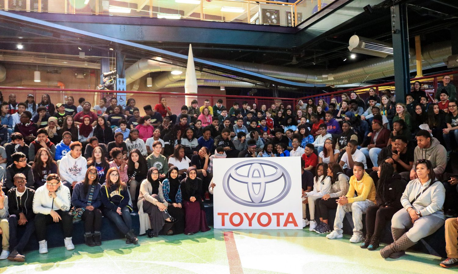 Toyota to Provide All Detroit Public School Eighth Graders Free M-Step Prep Field Trips to Michigan Science Center