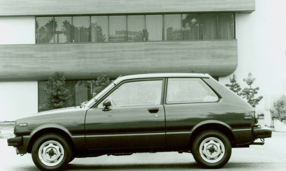 1981 – 1983 Toyota Starlet [First (1st) Generation]