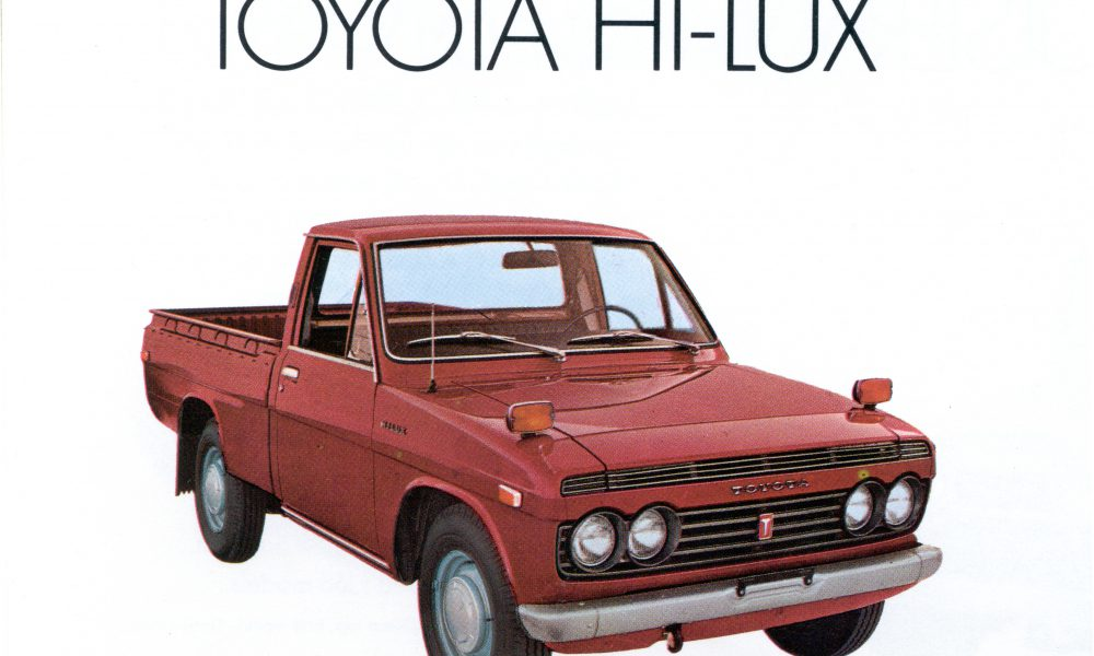 1969 – 1972 Toyota Hi-Lux Truck [First (1st) Generation]