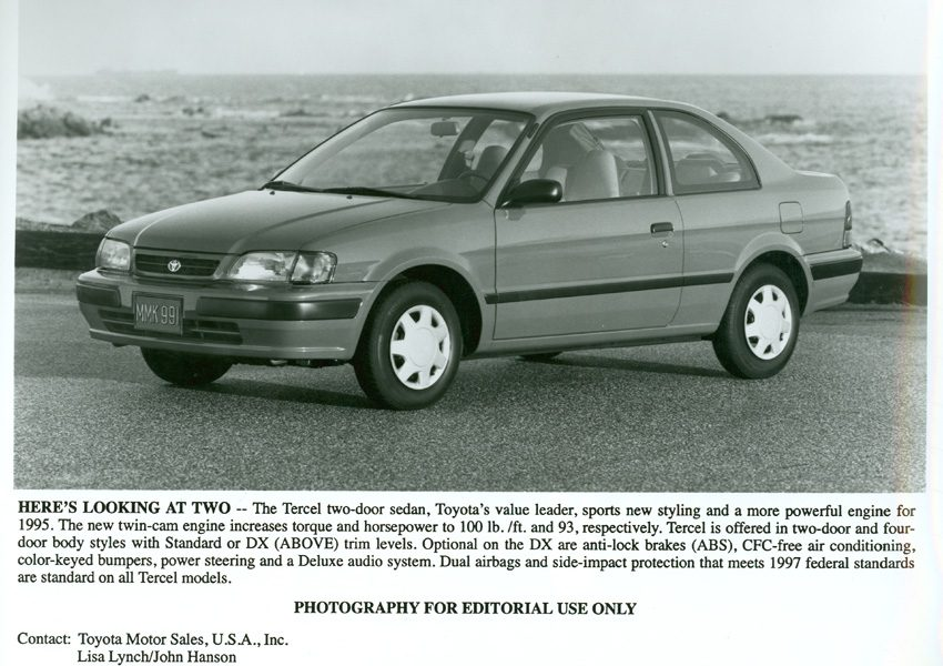 1995 1998 toyota tercel fifth 5th generation toyota usa newsroom 1995 1998 toyota tercel fifth 5th