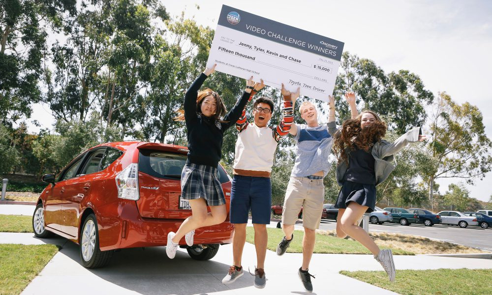2014 Toyota Teen Driver Video Challenge – Grand Prize Winners 001
