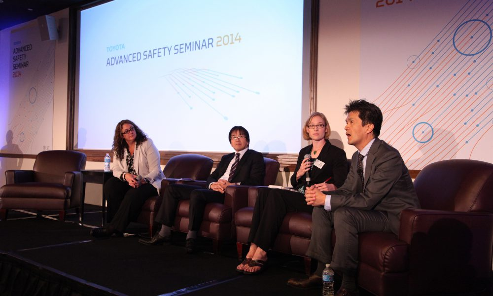 2014 Toyota Advanced Safety Seminar – Panel Discussion