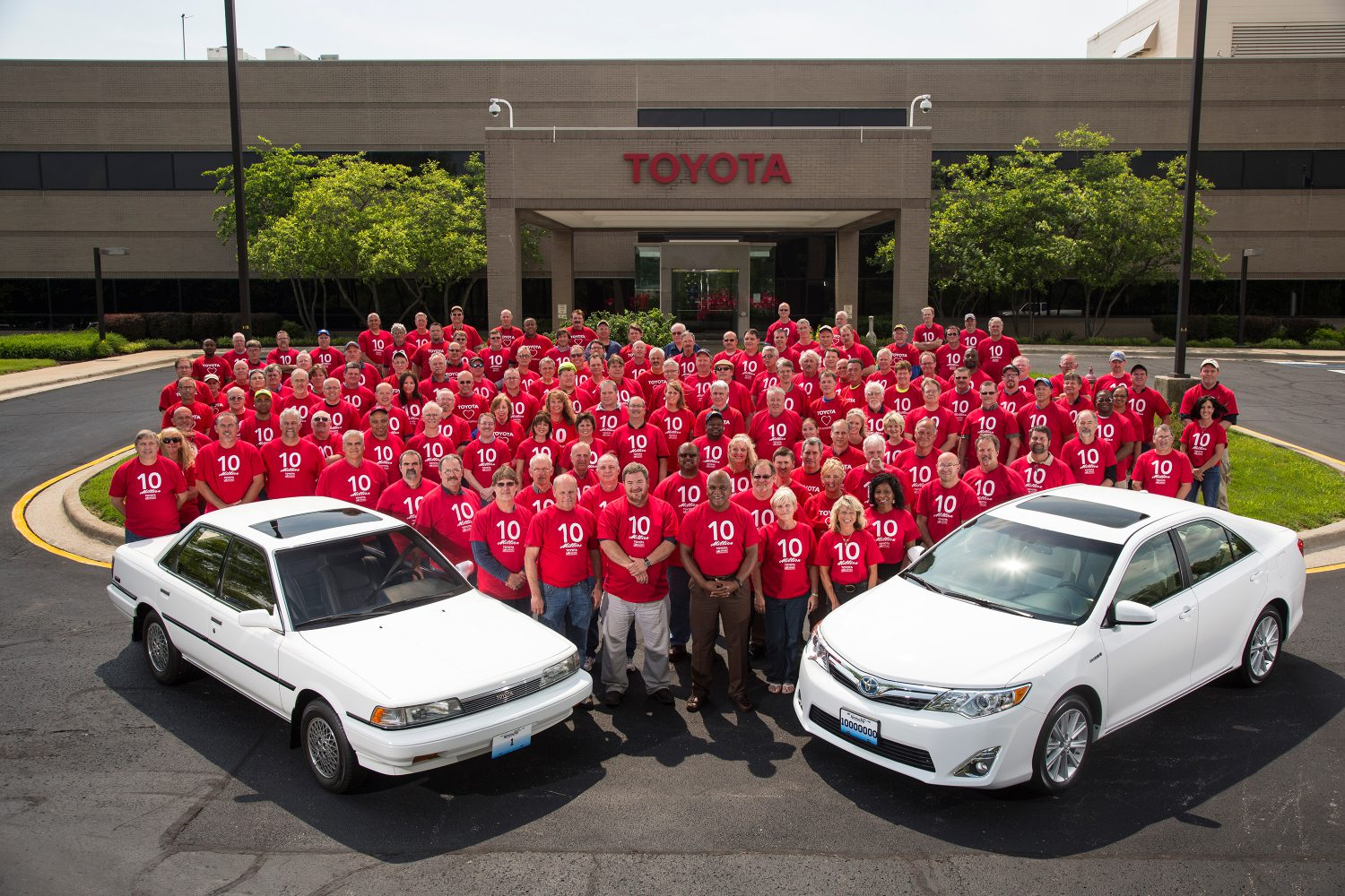 Toyota Plant Georgetown Ky >> Toyota Celebrates 10 Millionth Vehicle Made In Kentucky