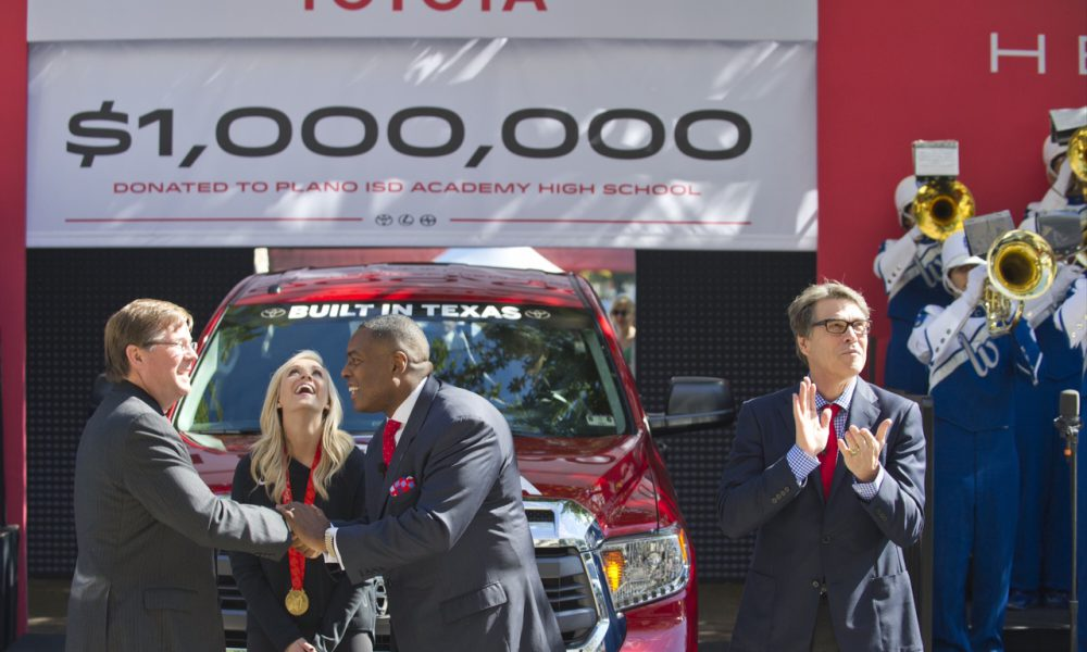 Hello Texas! Toyota Gives Hearty Thanks for Rolling Out the Welcome Wagon
