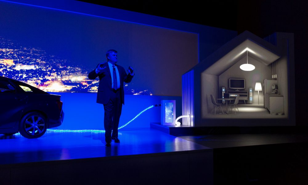 2015 Consumer Electronics Show (CES) – Toyota Press Conference 004