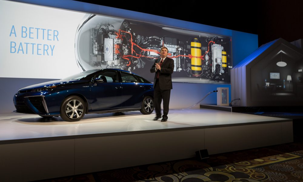 2015 Consumer Electronics Show (CES) – Toyota Press Conference 005