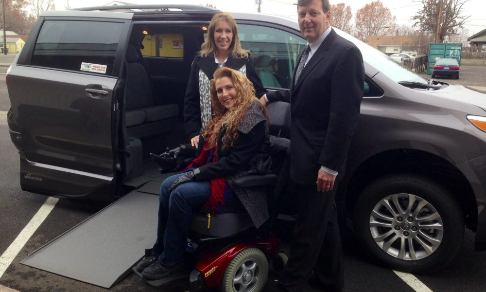 Toyota and VMI Deliver Wheelchair Accessible Van to Disabled Local U.S. Air Force Veteran