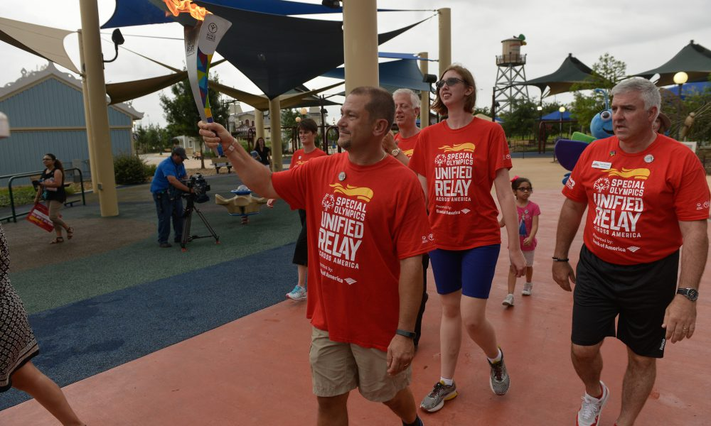 2015 Toyota – Special Olympics World Games Los Angeles – Flame of Hope at Morgan's Wonderland – Brad Nye