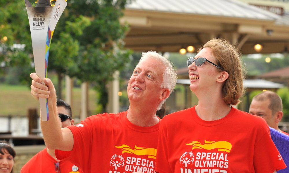 2015 Toyota – Special Olympics World Games Los Angeles – Flame of Hope at Morgan's Wonderland – Gordon and Morgan