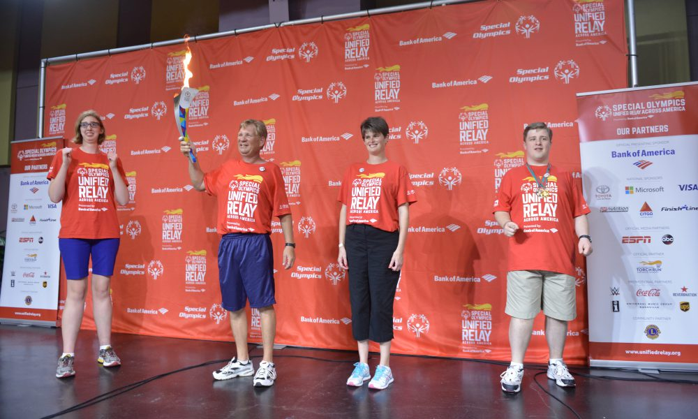 2015 Toyota – Special Olympics World Games Los Angeles – Flame of Hope at Morgan's Wonderland – Special Olympians