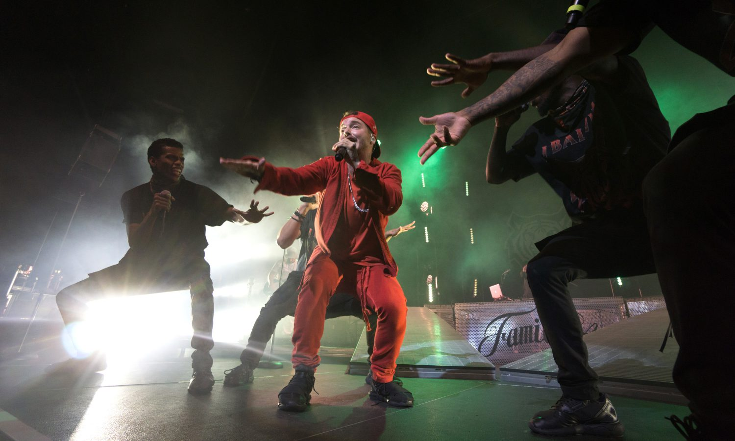J Balvin Rocks 'La Familia' With Special Guest, Becky G