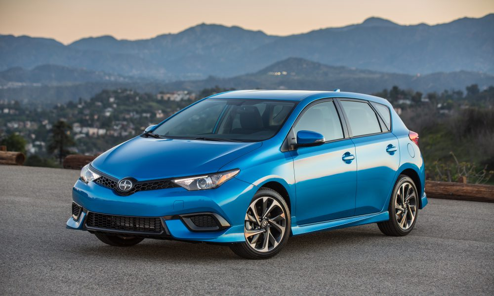 Five Doors, a Hatch and Room for Adventure: All-New 2016 Scion iM Ready to Fire Up the Fun Hatch Segment