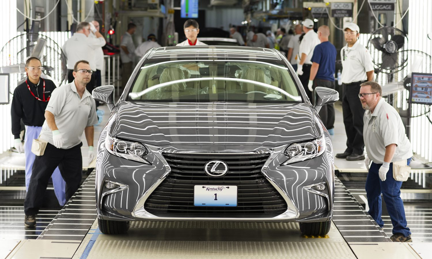 My Old Kentucky Homecoming: U.S. Lexus Production Begins in the Bluegrass State