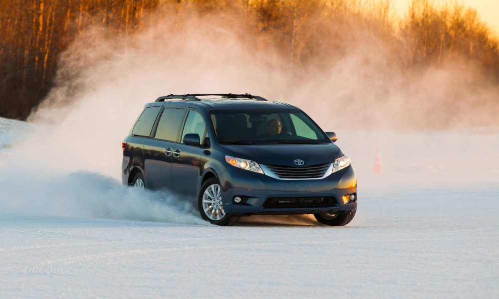 Toyota Sienna Van and RAV4 Compact SUV: All-Wheel-Drive Cures for the Winter Blues
