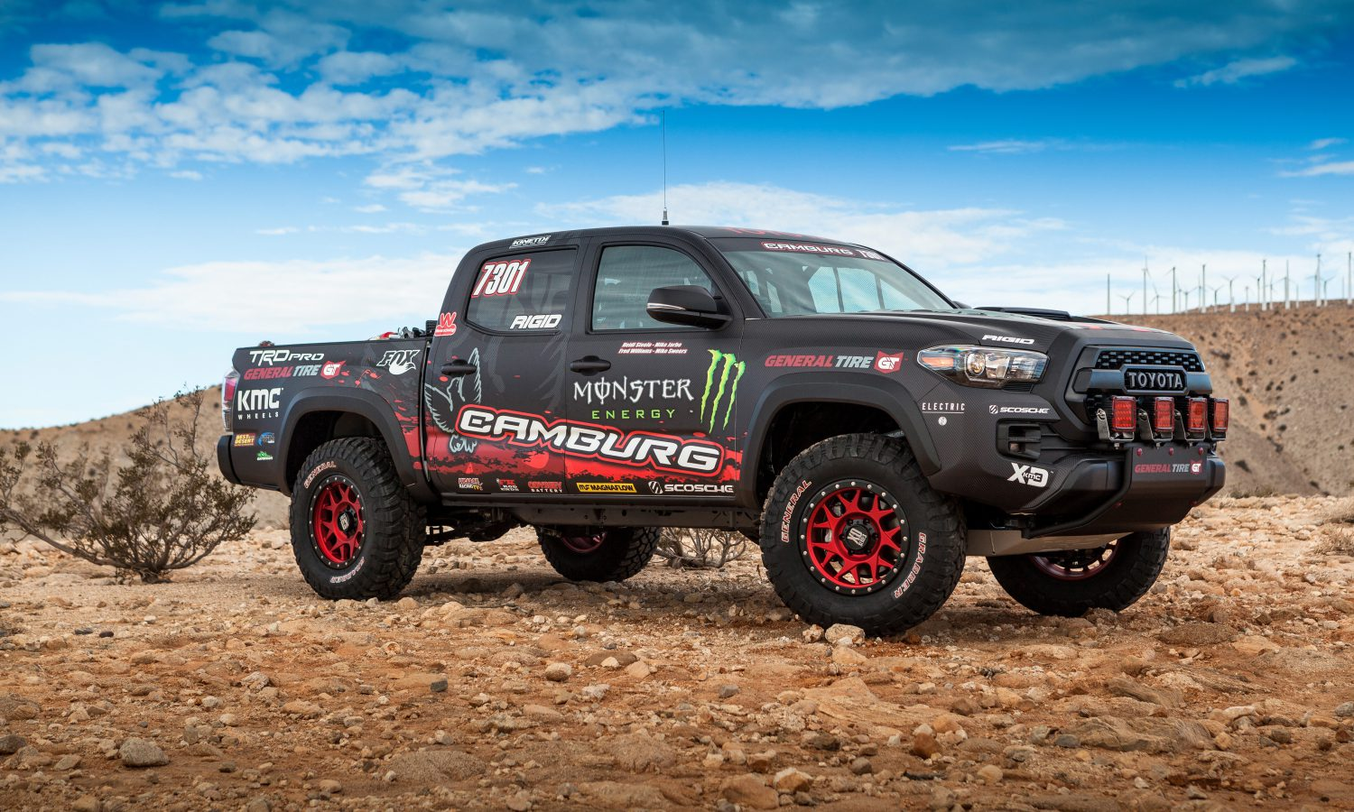 Toyota's Tacoma TRD Pro Race Truck Revealed at SEMA
