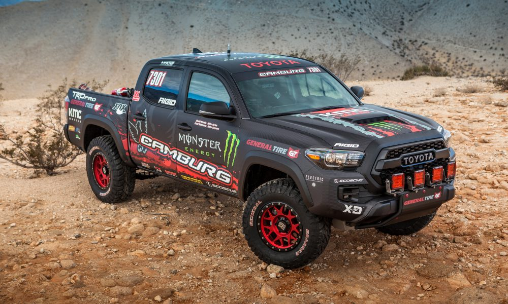 2016 Specialty Equipment Market Association (SEMA) – Toyota Tacoma TRD Pro Race Truck 03