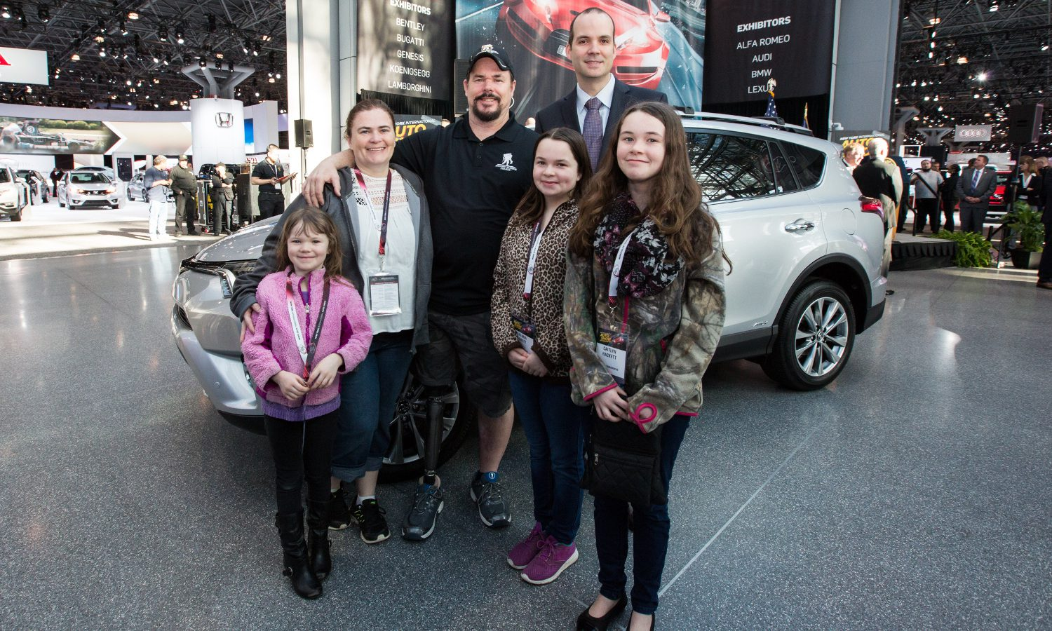 Getting Back Up: Toyota Donates RAV4 Hybrid to Veteran Who Stands Tall