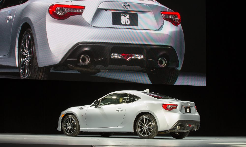 2016 NYIAS – Toyota press conference – 2017 Toyota 86