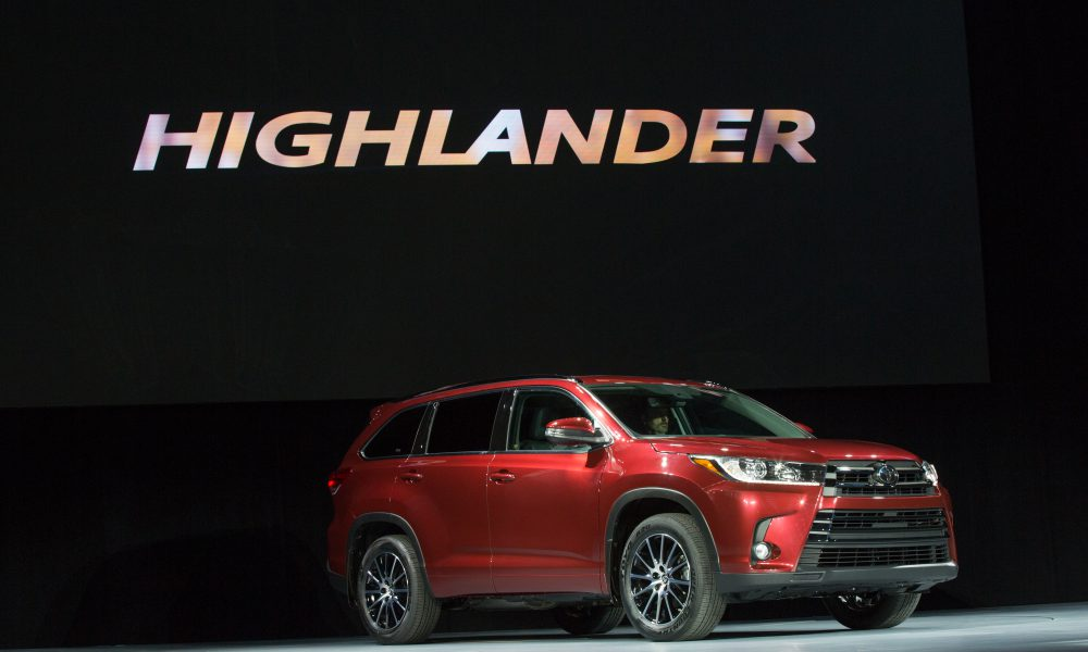 2016 NYIAS – Toyota press conference – 2017 Toyota Highlander