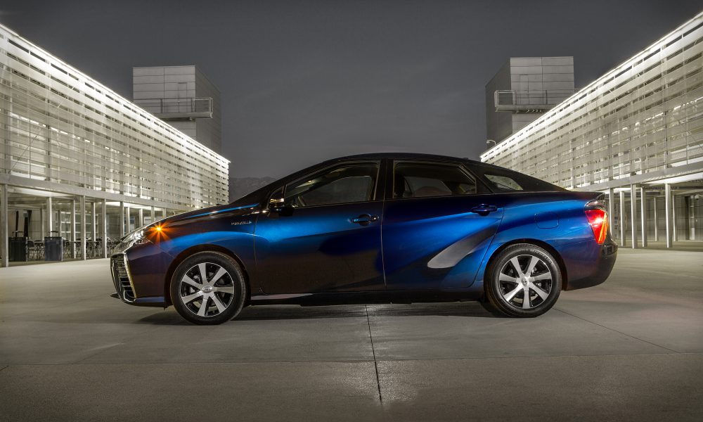 The Toyota Mirai Brings the Future to Your Driveway