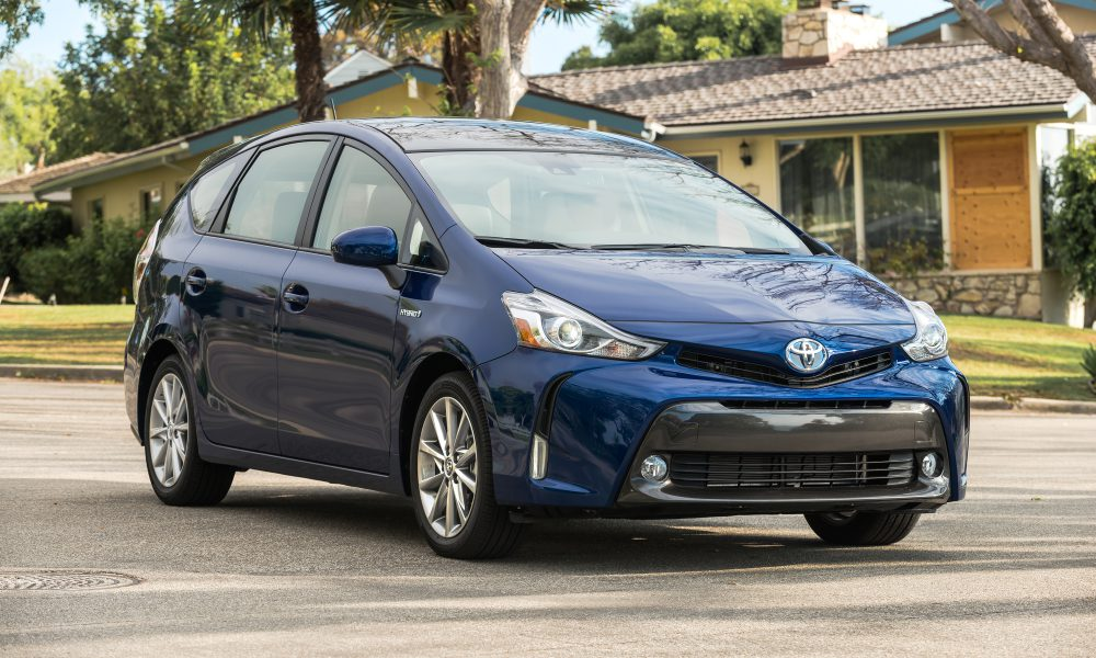 Prius v Is the Family Hybrid from America's First Family of Hybrids