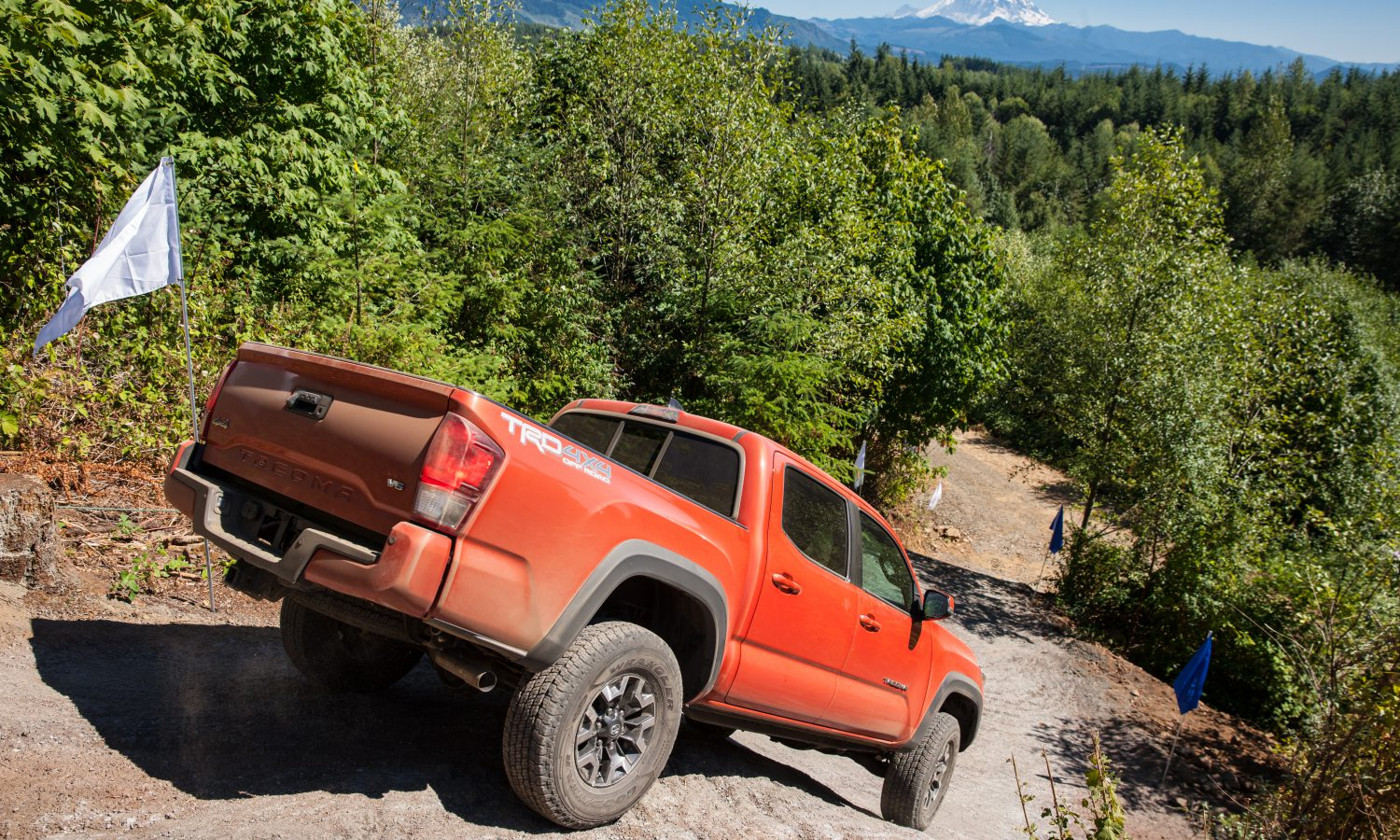 The All New 2016 Toyota Tacoma Mid Size Pickup Is Ready To Rock On And Off Road Toyota Usa Newsroom