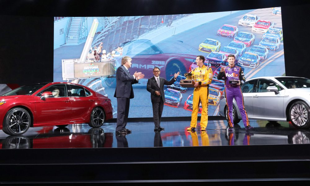 2017 NAIAS – 2018 Toyota Camry Debut 02