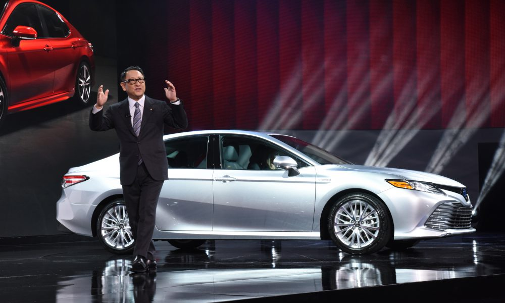 2017 NAIAS – 2018 Toyota Camry Debut 03