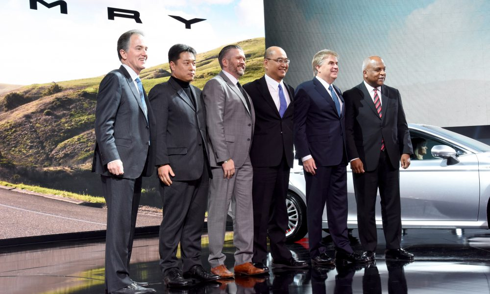 2017 NAIAS – 2018 Toyota Camry Debut 05