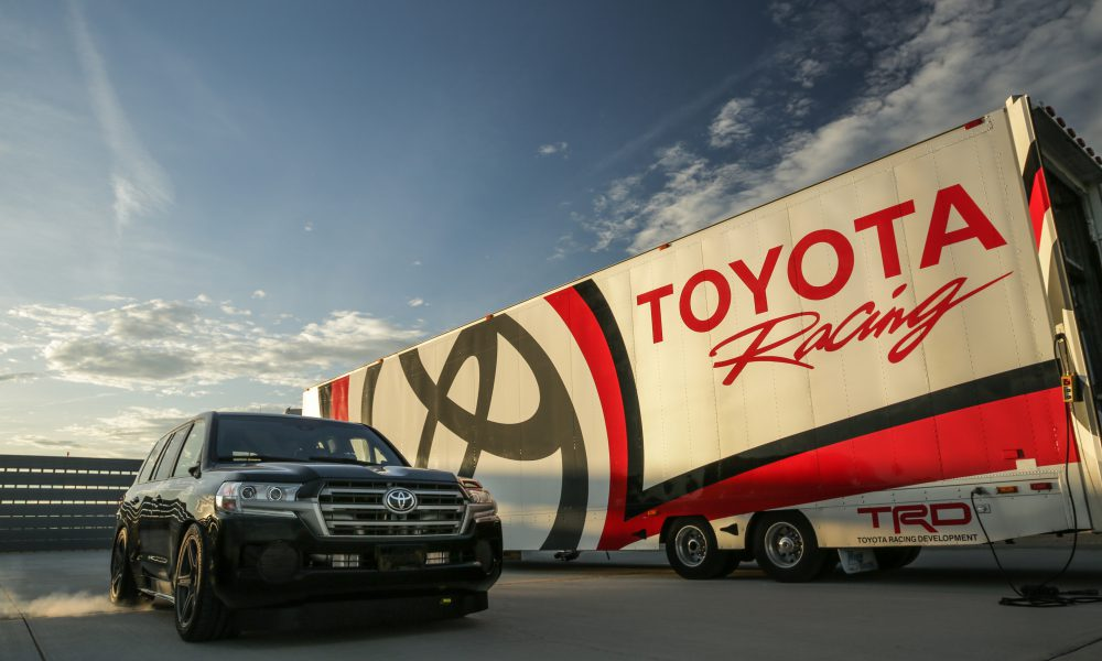 "Toyota Land Speed Cruiser Claims ""World's Fastest SUV"" Title"