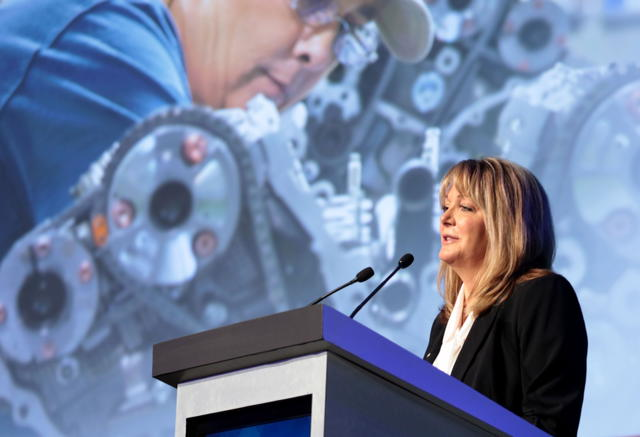Leah Curry Gives Remarks at the Center for Automotive Research
