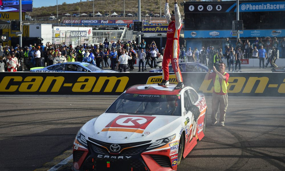 Toyota Drivers Advance in Playoffs, Manufacturer Titles Within Reach Following Phoenix