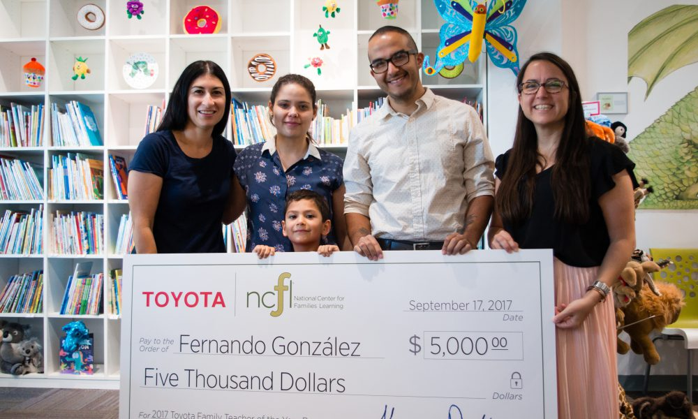 2017 NCFL Toyota Family Teacher of the Year Runner-Up Fernando Gonzalez 02