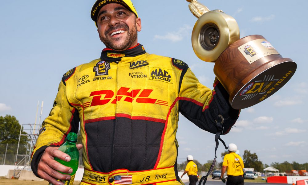 Playoff Season Begins for Toyota Racers in NASCAR, NHRA