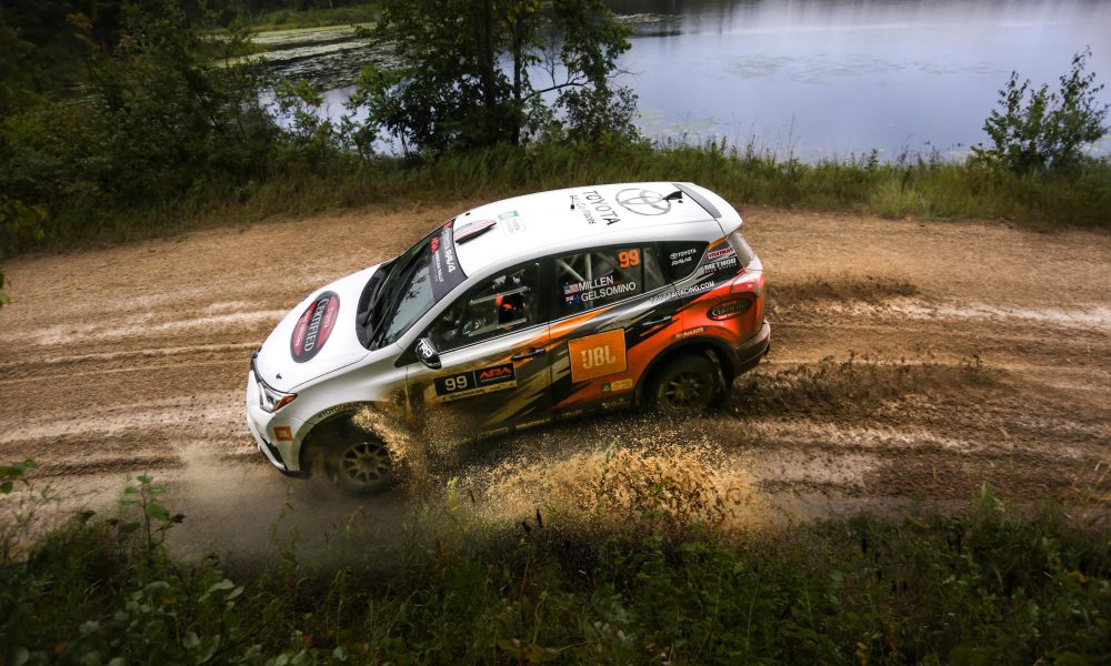 Toyota Closes Out Perfect Rally Season in Style at Ojibwe