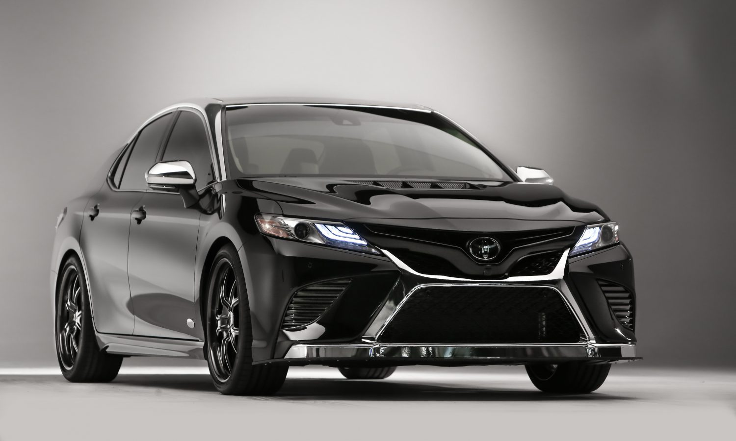 Kyle Busch Builds a one-of-a-kind 2018 Camry for SEMA 2017