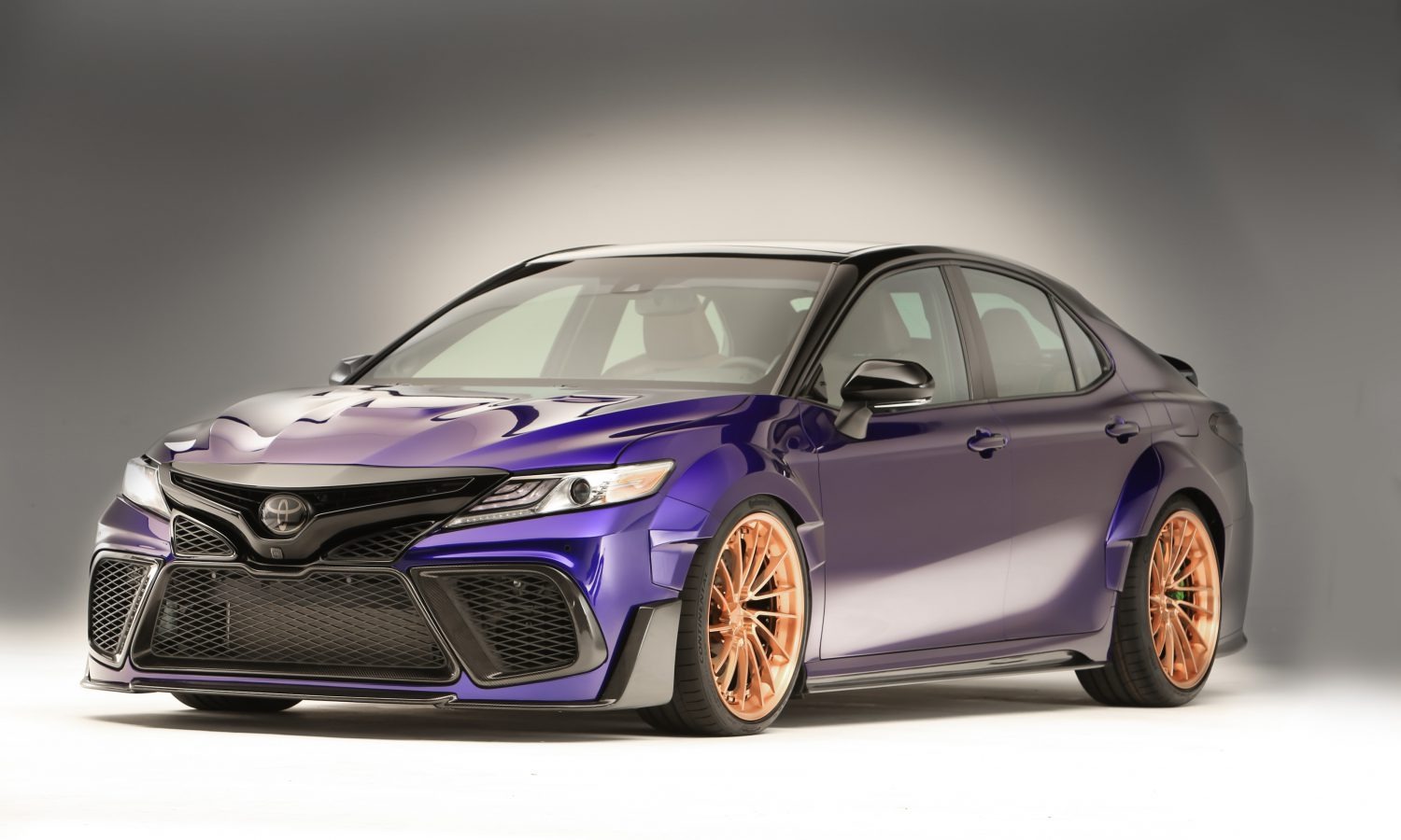 Rutledge Wood Builds a Wide, Eye-Catching 2018 Camry For SEMA 2017