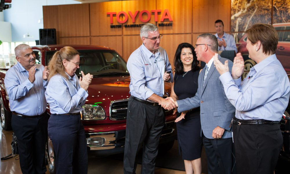 Toyota Indiana Celebrates 5 Million Success Stories