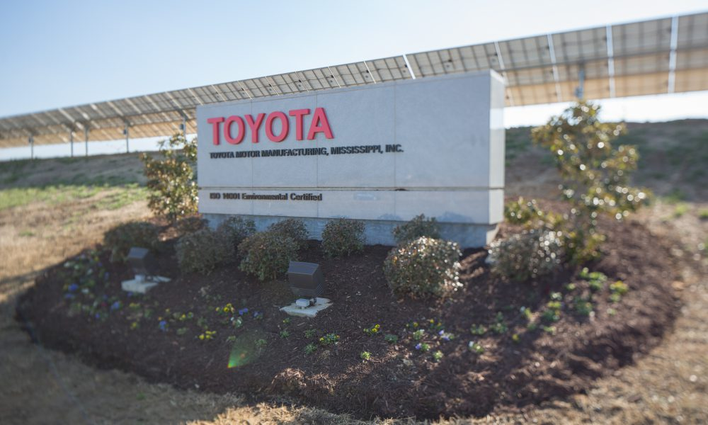 2017 Toyota Motor Manufacturing Mississippi (TMMS) Exterior 01