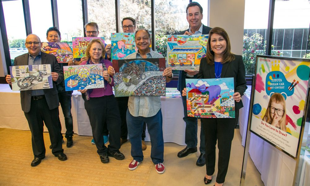 2017 Toyota Dream Car Art Contest – U.S. Judging Panel