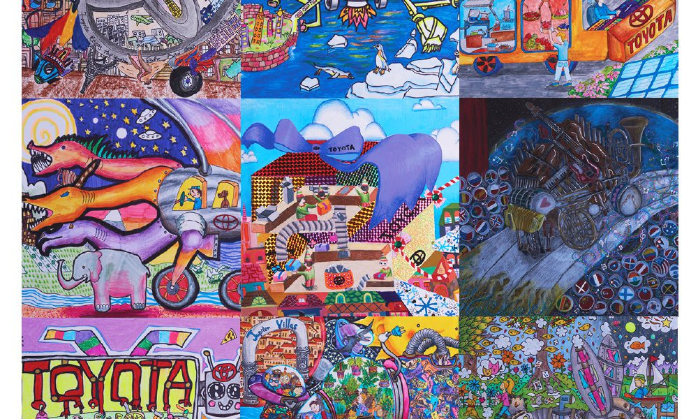 2017 Toyota Dream Car Art Contest – Winners Collage