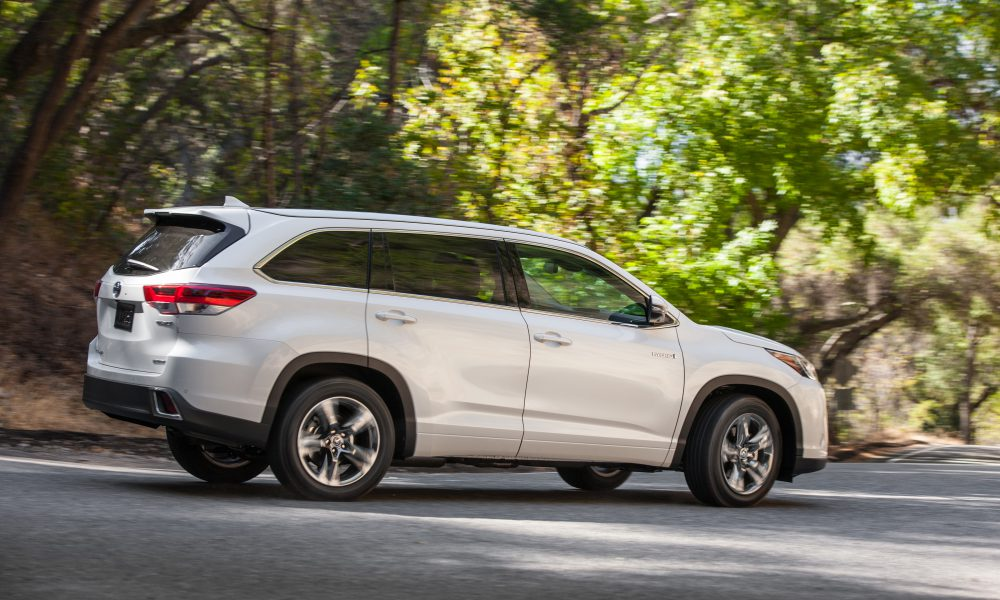 2017 Toyota Highlander Hybrid Product Information