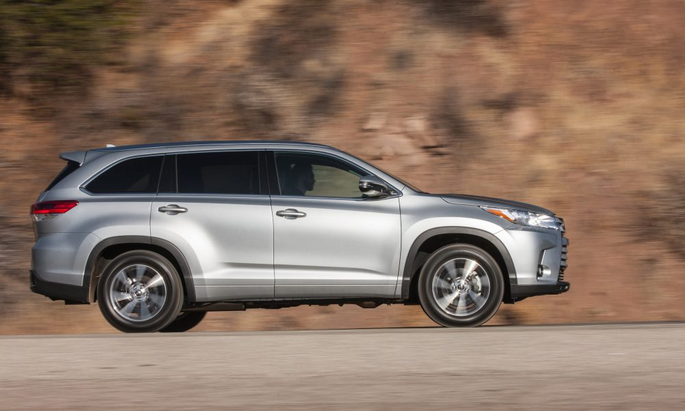 2017 Toyota Highlander Product Information