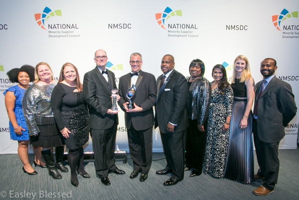 Toyota recognized as Corporation of the Year by the National Minority Supplier Development Council