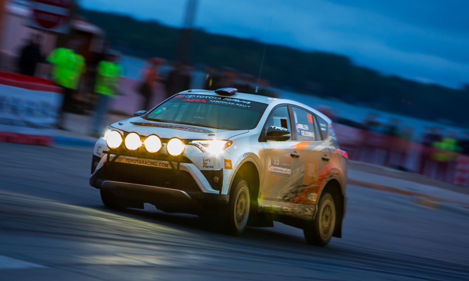 Toyota and Millen Set Sights on Prescott Rally