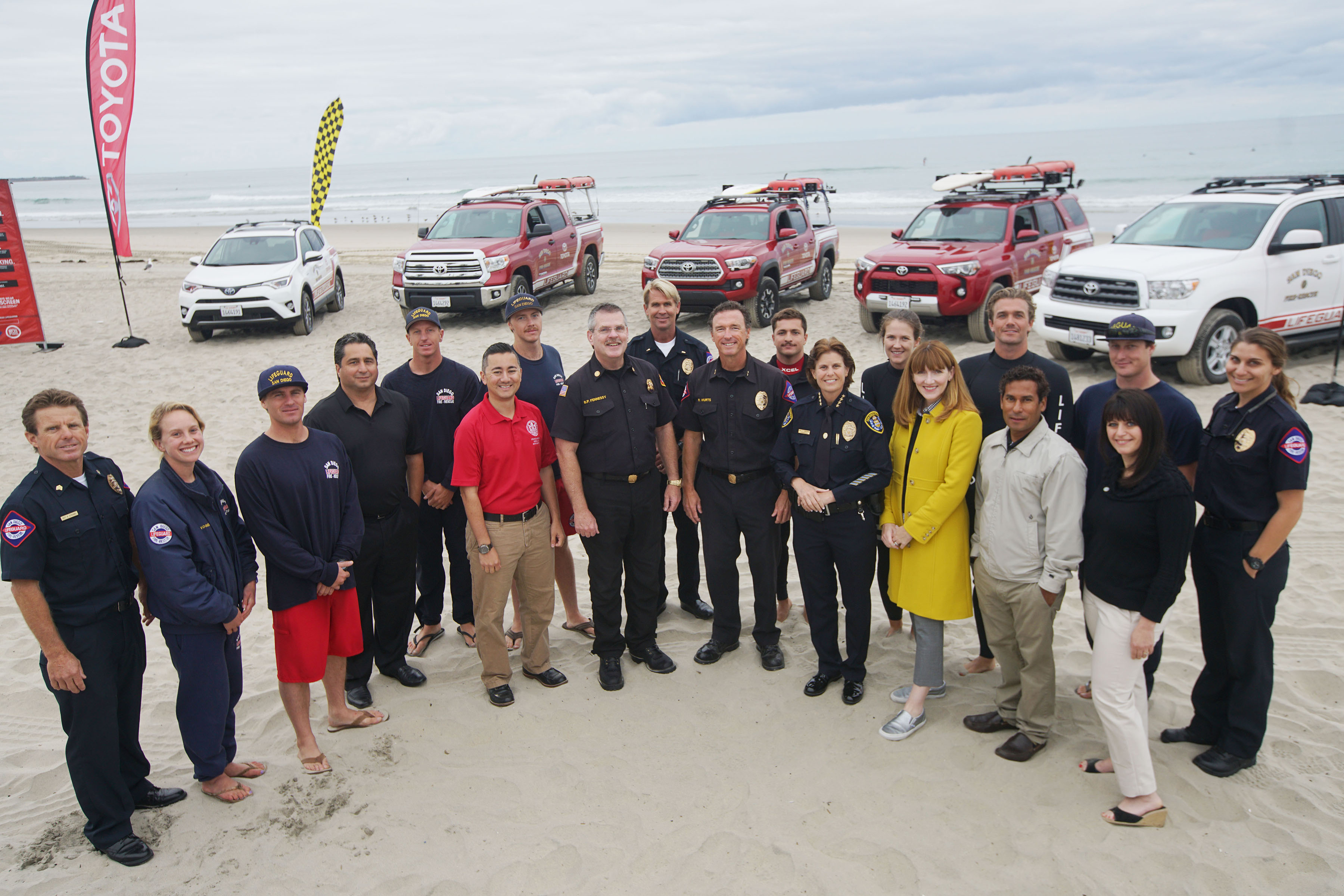 Toyota Celebrates The Sand, Surf & Safety of San Diego's