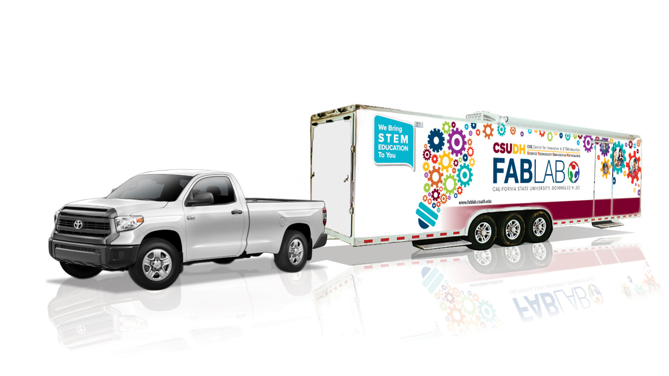 Toyota and California State University, Dominguez Hills Dedicate Mobile Fabrication Laboratories to bring STEM Learning to Schools in the Los Angeles Region