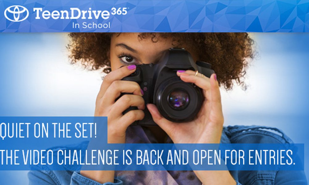 Calling Teen Filmmakers: Toyota and Discovery Launch Safe Driving PSA Challenge