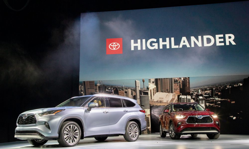 2020 Highlander World Debut Drives Toyota Lineup At The New York International Auto Show